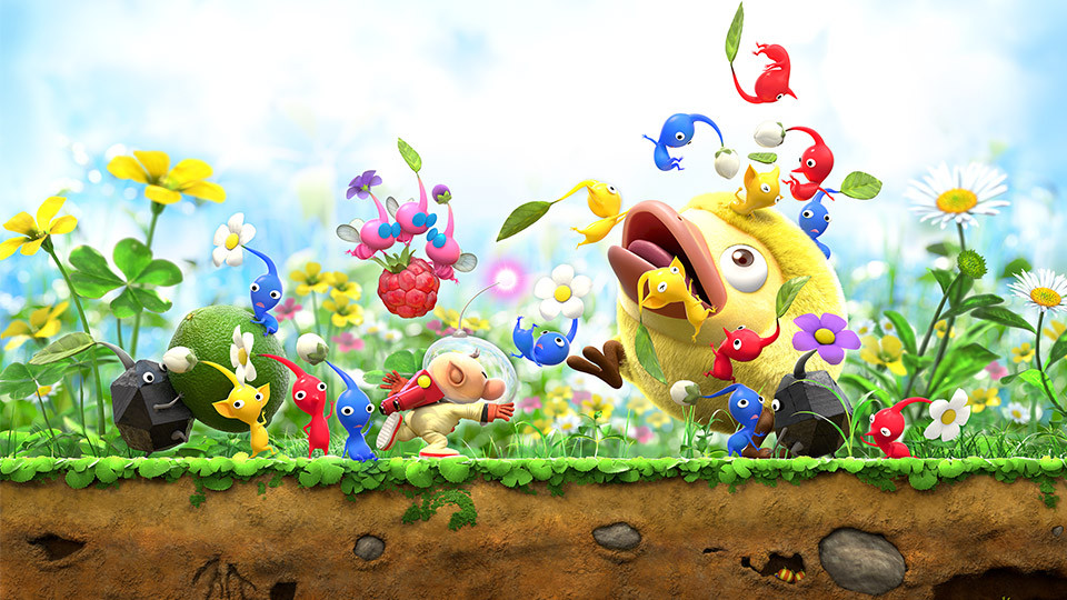 Pikmin gameplay