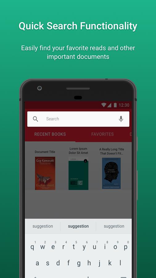 PDF Viewer & Book Reader Screenshot
